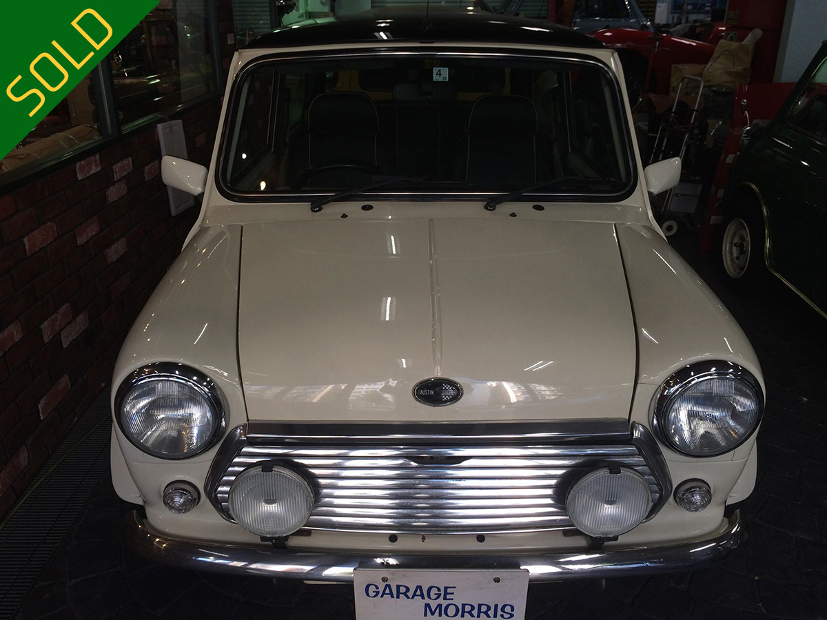 (売約済)2000年 ミニ1.3i マニュアル車